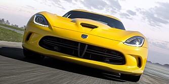 EAT YOU: SRT Viper ser ut som, føles som og kjører som om den var bygget av Porsche eller Ferrari. ALLE FOTO: Richard Prince