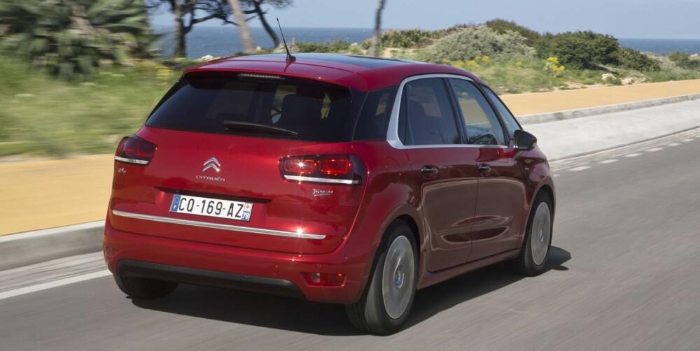KOMPAKT: C4 Picasso er en kompakt MPV. FOTO: Citroën
