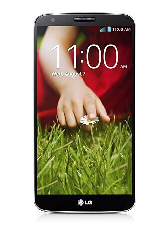 STOR: G2 har en 5,2 tommer stor skjerm, med full HD-oppløsning. Med målene 138,5 x 70,9 x 8,9 mm er den noen millimeter større enn Samsung Galaxy S4 i hver retning.