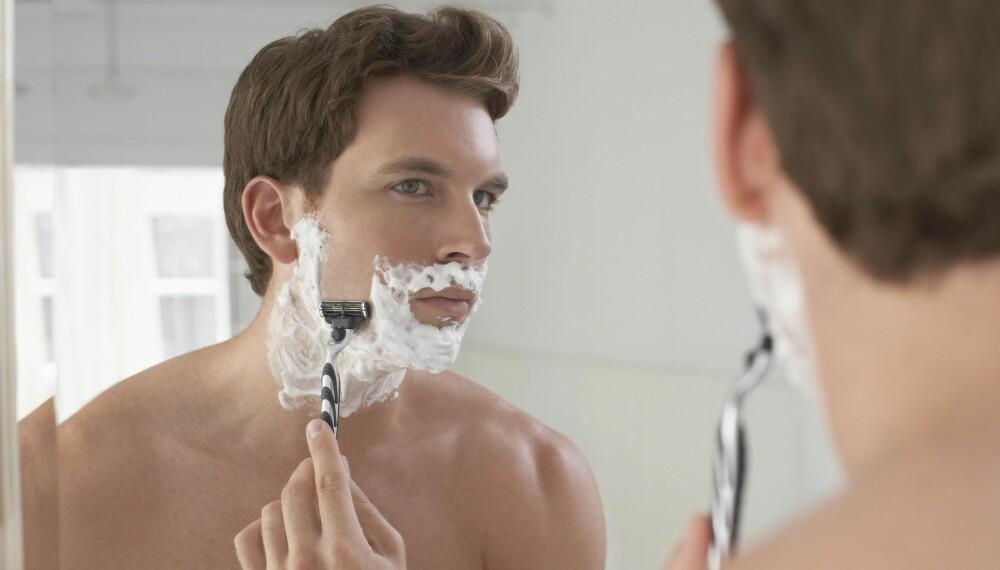 HVORDAN BARBERE SEG: Det er visse ting du bør tenke over når du barberer deg for å unngå tørr hud, kviser og ujevn barbering.