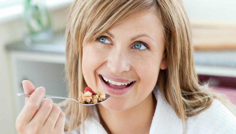 DAGENS FØRSTE MÅLTID: Du kan droppe frokosten med god samvittighet, ifølge eksperten.