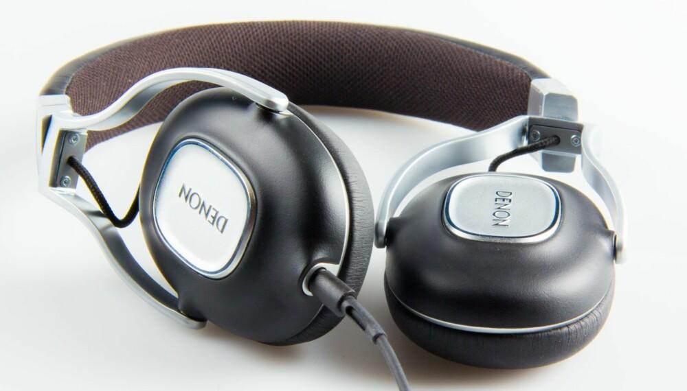KVALITET: Denon AH-MM300 oser av kvalitet og lydbildet hodetelefonene leverer er også godt.