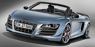 Audi R8 GT Spyder V10