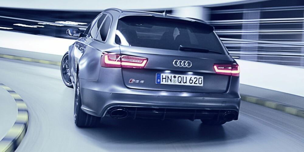 4WD: Audi-en har firehjulsdrift. Det kan nok oppleves som fordelaktig når underlagt er sleipt. FOTO: Thomas Salt