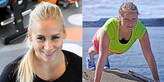 EKSPERTER: Til venstre: Helene Vabø Thorsen, personlig trener på SATS. Til høyre: Helene Høimyr, muskelfysiolog og personlig trener med bloggen Kunnskapsriktigtrening.