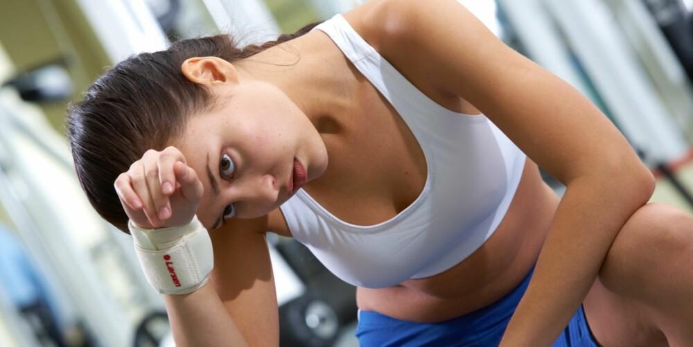 SLITEN: Er du for sliten til å trene? Du får mer energi hvis du bare kommer i gang.