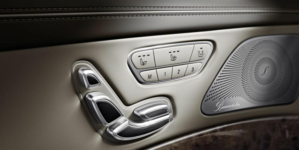 EKSTRA: Burmester-anlegg er ekstrautstyr. FOTO: Daimler AG