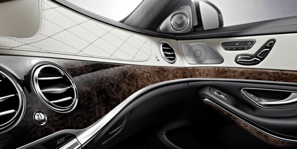 RUNDT: De fire rektangulære ventilene er erstattet med seks runde ventiler som justeres elektronisk. FOTO: Daimler AG