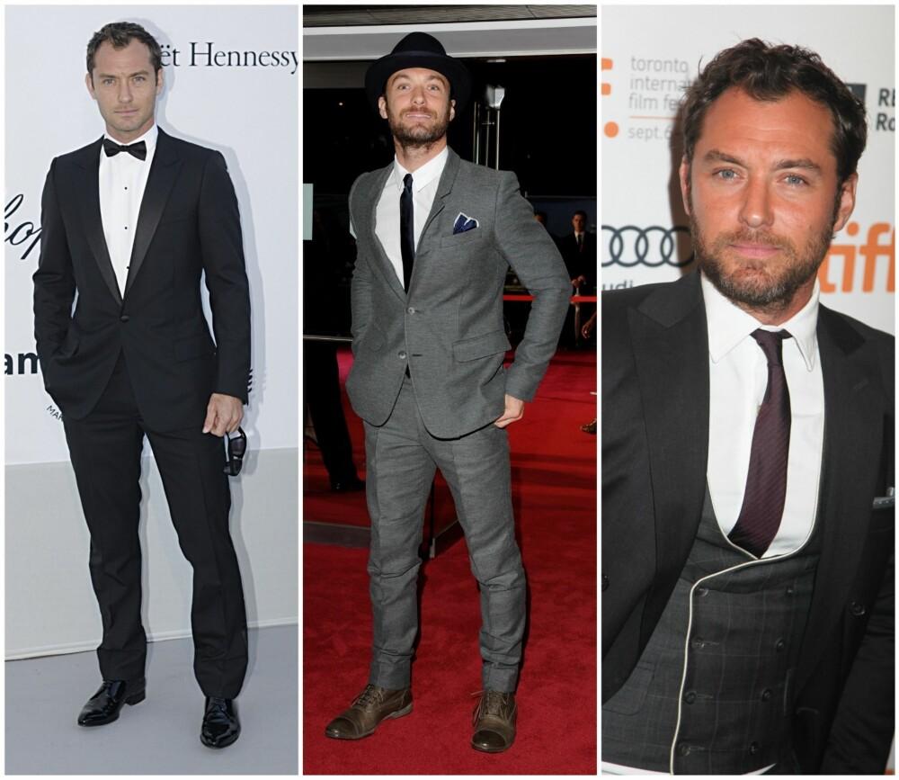 f19ec2ce MESTEREN: Selv om Jude Law ofte stiller i grå dresser, er han en mester