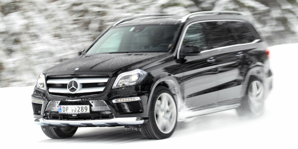 YETI: Mercedes-Benz GL gjør ikke forsøk på å vinne noen skjønnhetskonkurranse. Du kan bruke lasteplassen som smørebod. FOTO: Egil Nordlien, HM Foto