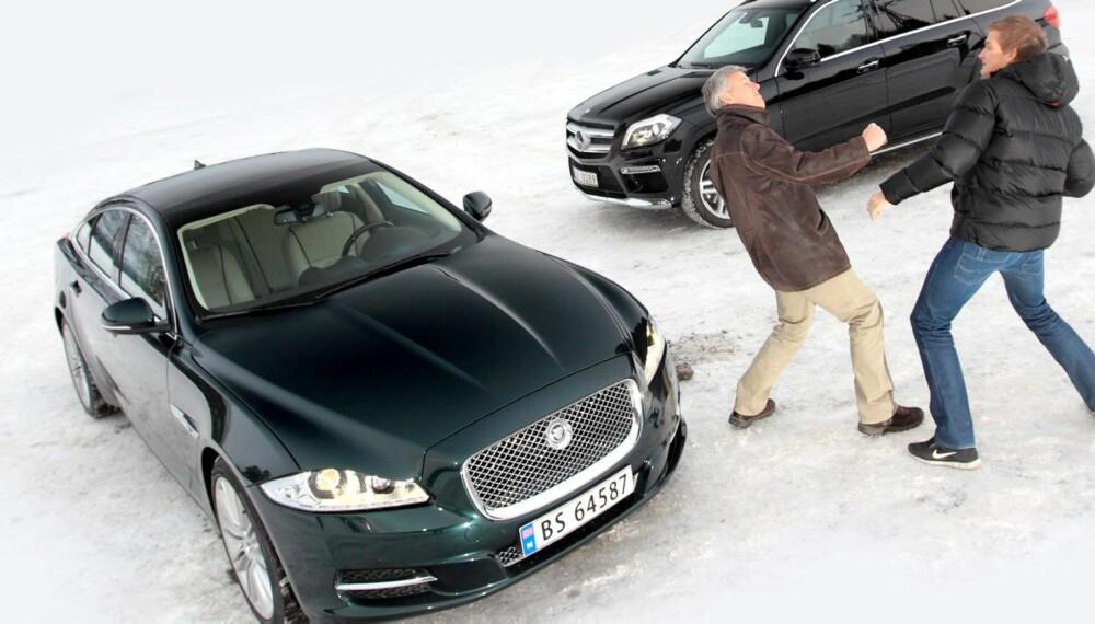 NORGES BARNSLIGSTE BILDUELL: - Bilen min banker bilen din. FOTO: Egil Nordlien, HM Foto