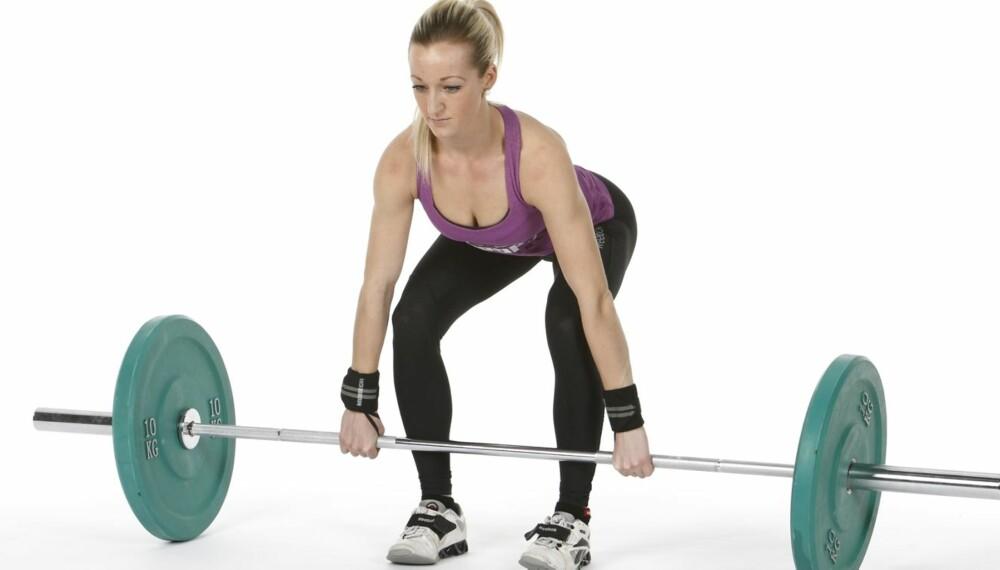 STERK: Den gamle olympiske grenen støt er topp trening for alle som vil bli sterke, smidige og lynkjappe.