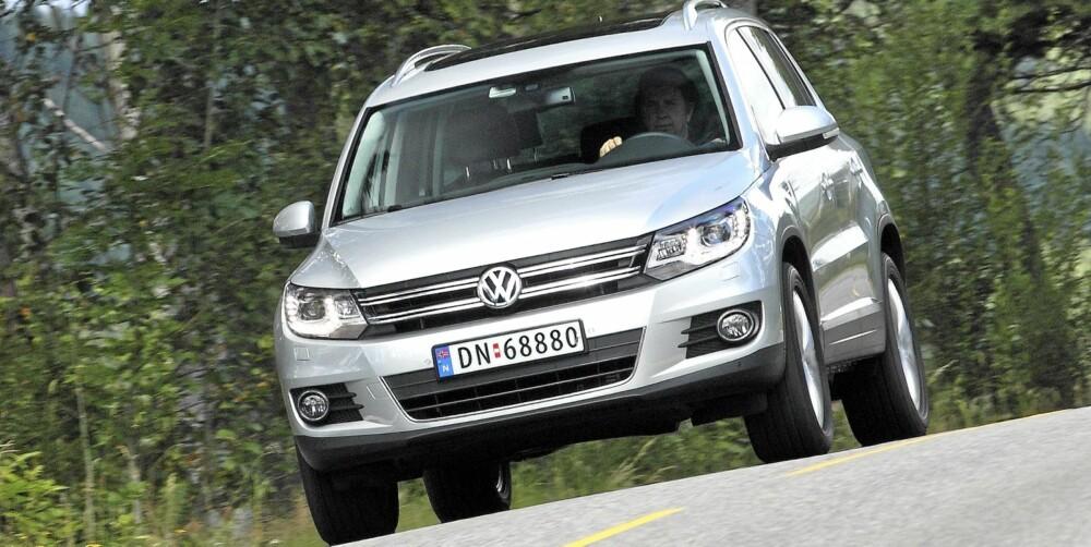 BESTE KOMPAKT-SUV: VW Tiguan. FOTO: Egil Nordlien, HM Foto
