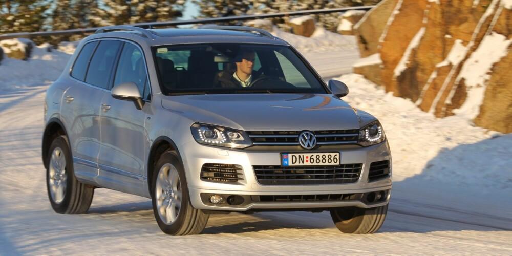 VW Touareg. FOTO: Terje Bjørnsen