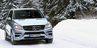 Mercedes ML. FOTO: Egil Nordlien, HM Foto