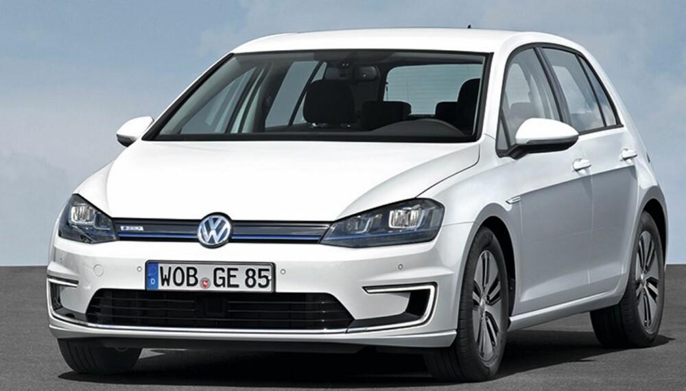 KOMMER SNART: Den elektriske Golfen, e-Golf, kommer til Norge andre kvartal i år.