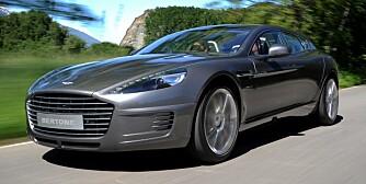 EKSTREMT KUL: Vakker, luksuriøs og ekstra praktisk rasedyr-Aston, og ekstremt kul. FOTO: Produsent