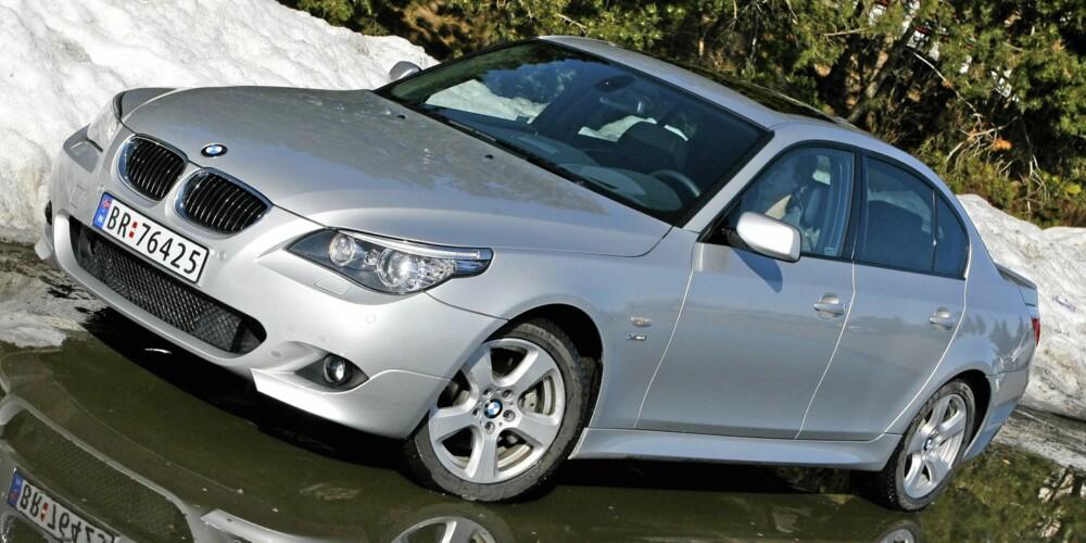 PENGER Å SPARE: BMW 520d stasjonsvogn 2009-modell. Fra 360-480 000 kroner i Norge. Fra 285-410 000 kroner i Tyskland.