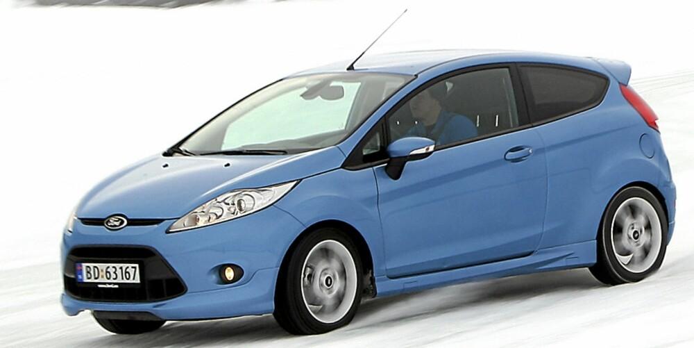 PENGER Å SPARE: Ford Fiesta 2009 og 2010-modell. Fra 120-210 000 kroner i Norge. Fra 90-165 000 kroner i Tyskland.