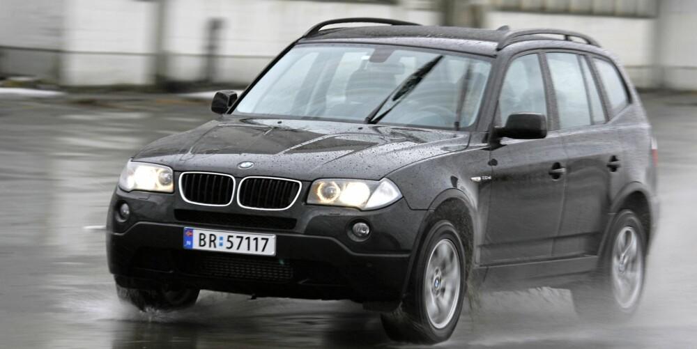PENGER Å SPARE: BMW X3 2,0d 2009-modell. Fra 440-530 000 kroner i Norge. Fra 355-500 000 kroner i Tyskland.