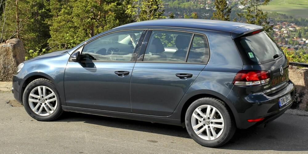 PENGER Å SPARE: VW Golf 2010-modell, 1,2 og 1,4 TSI, 1,6 TDI. Fra 185-280 000 kroner i Norge. Fra 155-260 000 kroner i Tyskland.