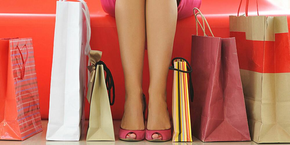 HANDLEPAUSE: Det er blitt in å ta en pause fra shopping. Flere og flere velger å legge vekk kredittkortet og heller bruke ting man allerede har.