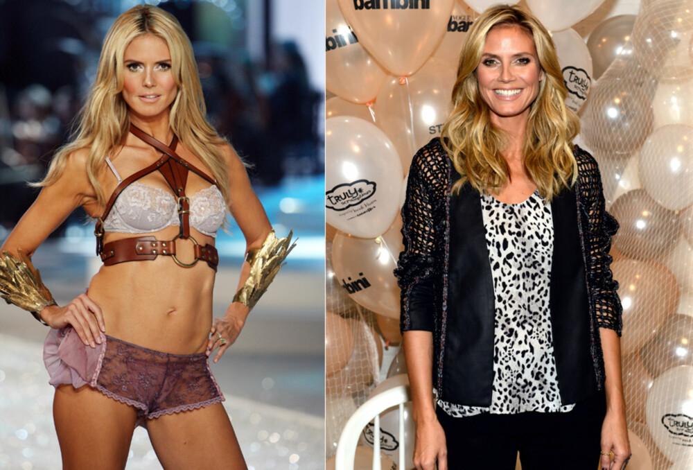 SIER TAKK FOR SEG: 40-år gamle Heidi Klum uttalte nylig at hun ikke lengre føler seg komfortabel med å være undertøysmodell.
