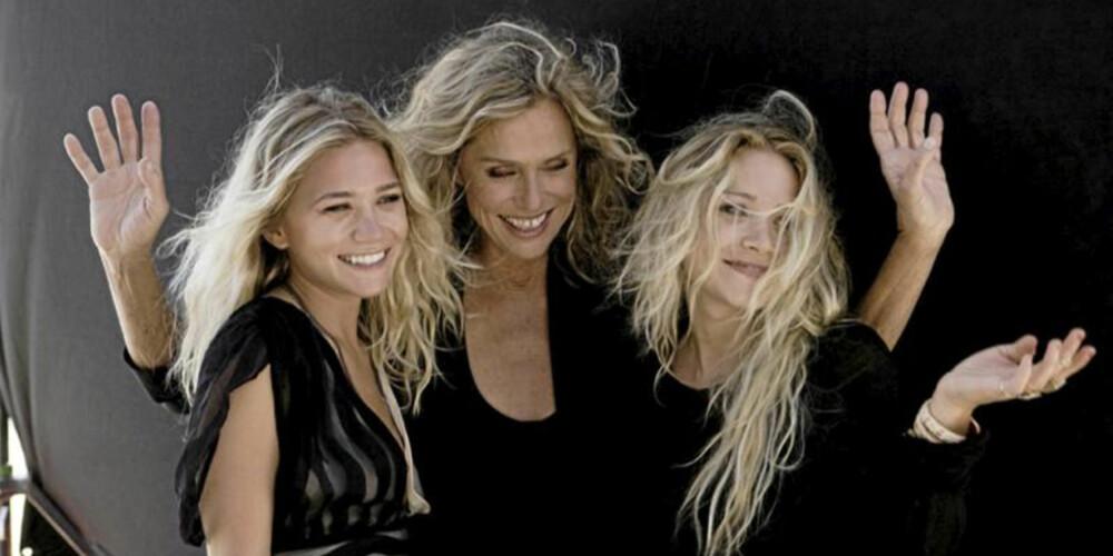MODEN MODELL: Olsen-tvillingene har også funnet sin muse blant de voksne damene. I deres eksklusive kleslinje The Row, har de valgt selveste Lauren Hutton (67) som modell.
