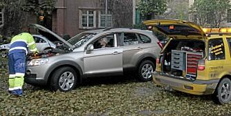 BILENE SOM STOPPER: ADAC-statistikken er basert på biler som har fått veihjelp.