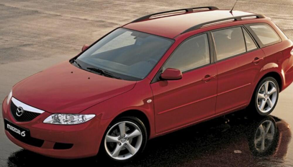 Mazda 6 fra 2002 til 2007 er en morsom og praktisk bruktbil.
