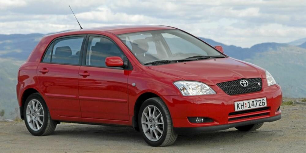 MASSEPRODUSERT: Antakelig verdens mest solgte bilmodell, men svært godt kvalietsry. FOTO: Terje Bjørnsen