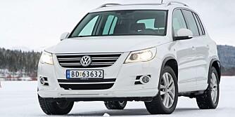 VW TIGUAN: Færrest feil av familie-SUV-ene: FOTO: Egil Nordlien, HM Foto