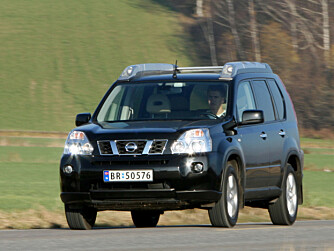 NISSAN X-TRAIL: Sjekk bremsene før du kjøper. FOTO: Vi Menn Bil Top Gear