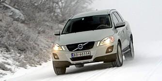VOLVO XC60: Komfort og driftssikkerhet. FOTO: Egil Nordlien