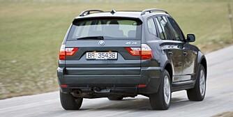 BMW X3: Flere feil enn konkurrentene. FOTO: Vi Menn Bil Top Gear
