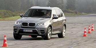 BMW X5: Sportslig stor-SUV av høy kvalitet. FOTO: Egil Nordlien, HM Foto
