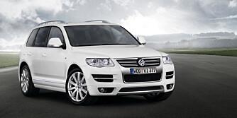 VW TOUAREG: Sjekk elektronikk og lykter. FOTO: Produsent