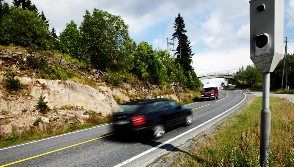 FEILMARGINER: Både bilen og fotoboksen har feilmarginer. Du kan kjøre fortere enn du tror.