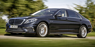 ADM.DIR: Nye Mercedes S 65 AMG har snart verdenspremiere. Og den kommer til Norge. FOTO: Daimler AG