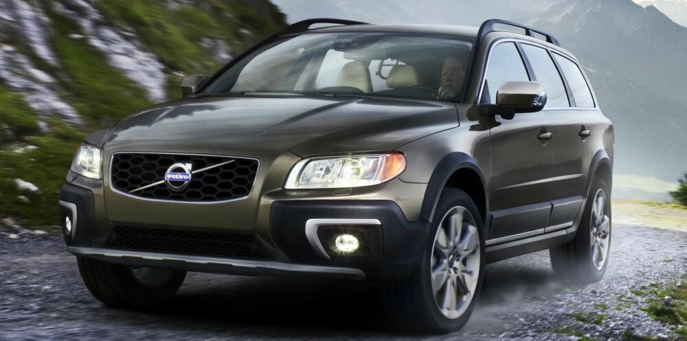 FORNYET: Slik ser nye Volvo XC70 ut. FOTO: Henrik Ottosson