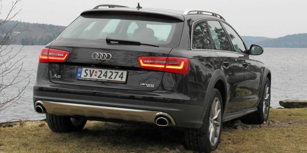 STATUS: Audi A6 Allroad - statusbilen kanskje fremfor noen. FOTO: Øyvind Jakobsen