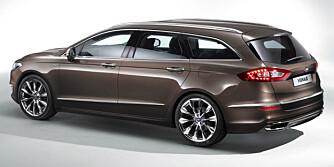 KOMMER SNART: Dagens Ford Mondeo blir snart erstattet av en helt ny Mondeo. Sportslige kjøreegenskaper og god plass har vært blant Mondeos sterke sider.