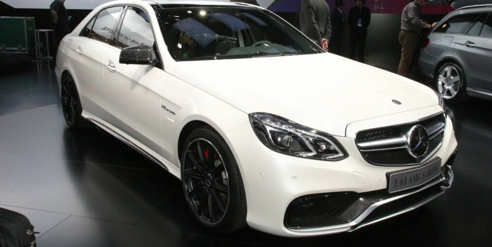 BARSK: Nye Mercedes E63 AMG: FOTO: Newspress