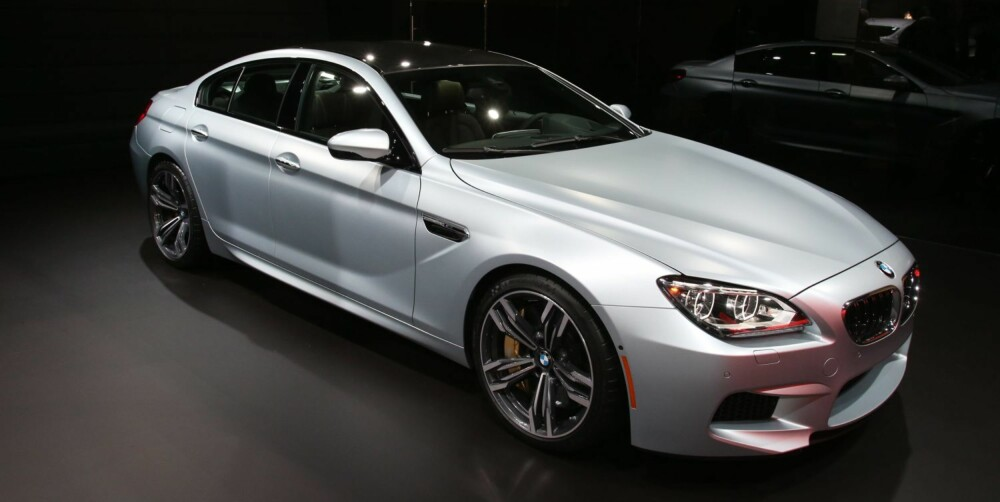 LEKKER: BMW M6 Gran Coupe. FOTO: Newspress