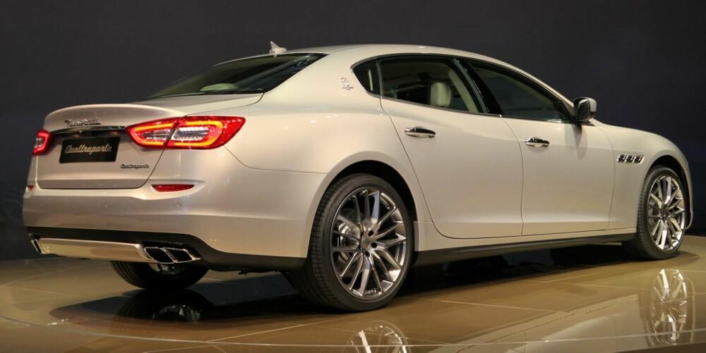ITALIANO: Maserati Quattroporte. FOTO: Newspress