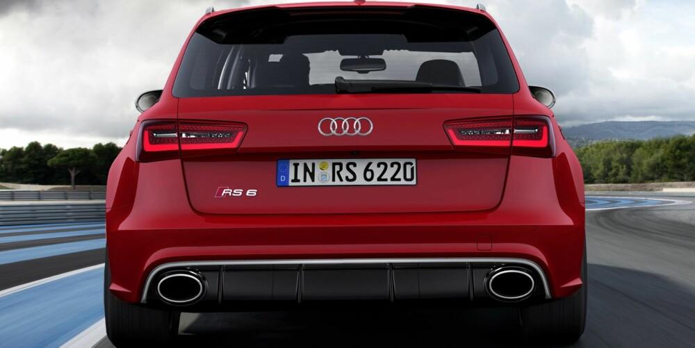 HEFTIG: Audi RS6 Avant. FOTO: Audi