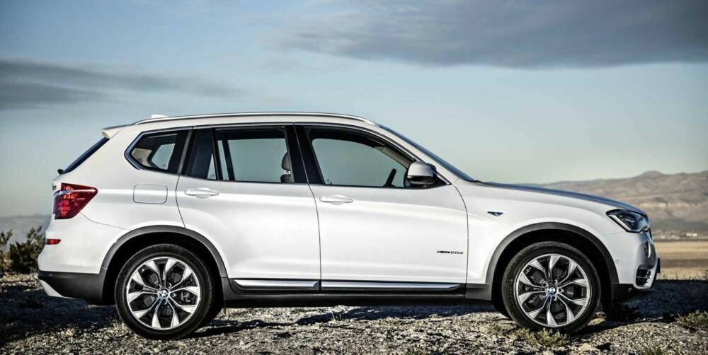 PYNT: Nye lakkfarger og nye aluminiumsfelger hører med til en midtlivsoppgradering. FOTO: BMW