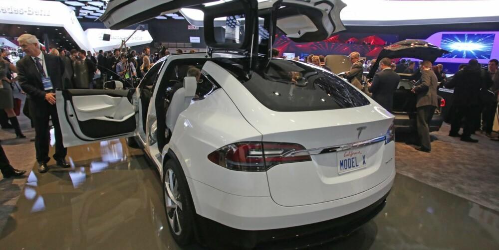 X: Når bilen vil bli lansert er foreløpig ukjent - altså x. FOTO: Newspress