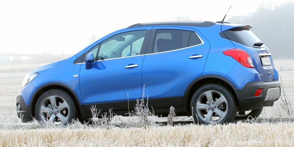 LITEN KAFFE: Godt alternativ om du vil ha en lettmanøvrert bil som ikke bryr seg om glatt føre. Ikke forvent mye plass. FOTO: Petter Handeland