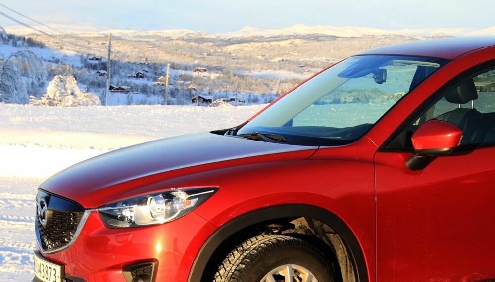 VINNER: I løpet av 11 måneder har Mazda solgt over 4000 CX-5. Det er salgsrekord for SUV i Norge. FOTO: Egil Nordlien, HM Foto